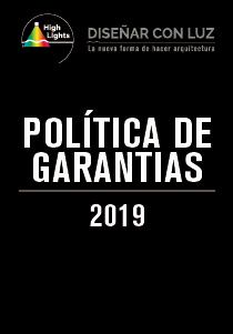 POLITICA DE GARANTIAS